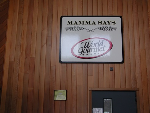 A glimpse inside the World Gourmet Mamma Says manufacturing center