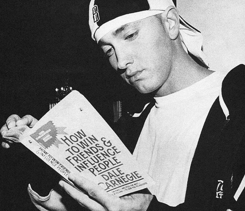 Eminem becoming more high reference.