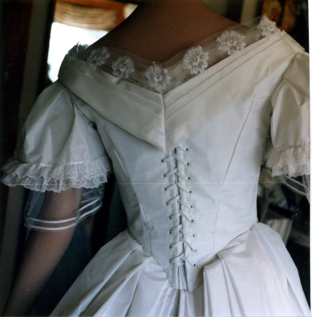 Civil War Reproduction Gown