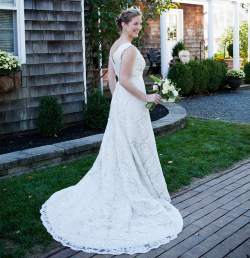 Handmade Lace Gown Wedding