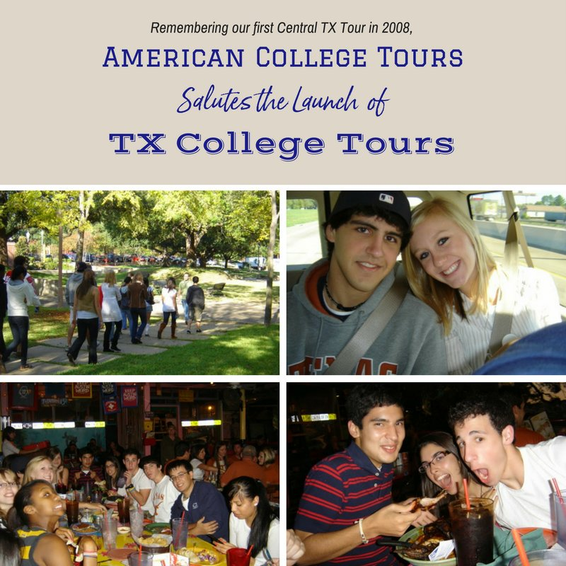 A Twitter post from our original parent organization -- American College Tours.