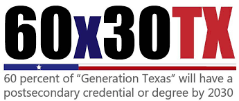 60x30TX is a program of The Higher Education Coordinating Board.