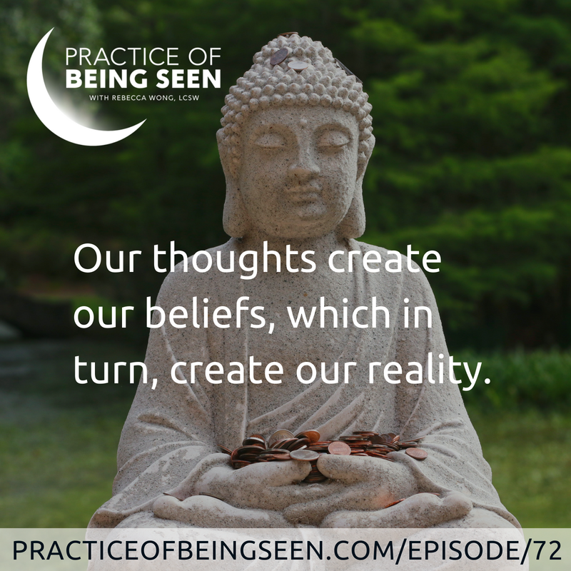 Our thoughts create our beliefs, which in turn, create our reality. - Joanne Leffeld