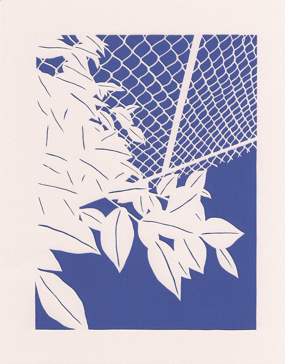 "SIDELINES  (8x10"", 2017)"