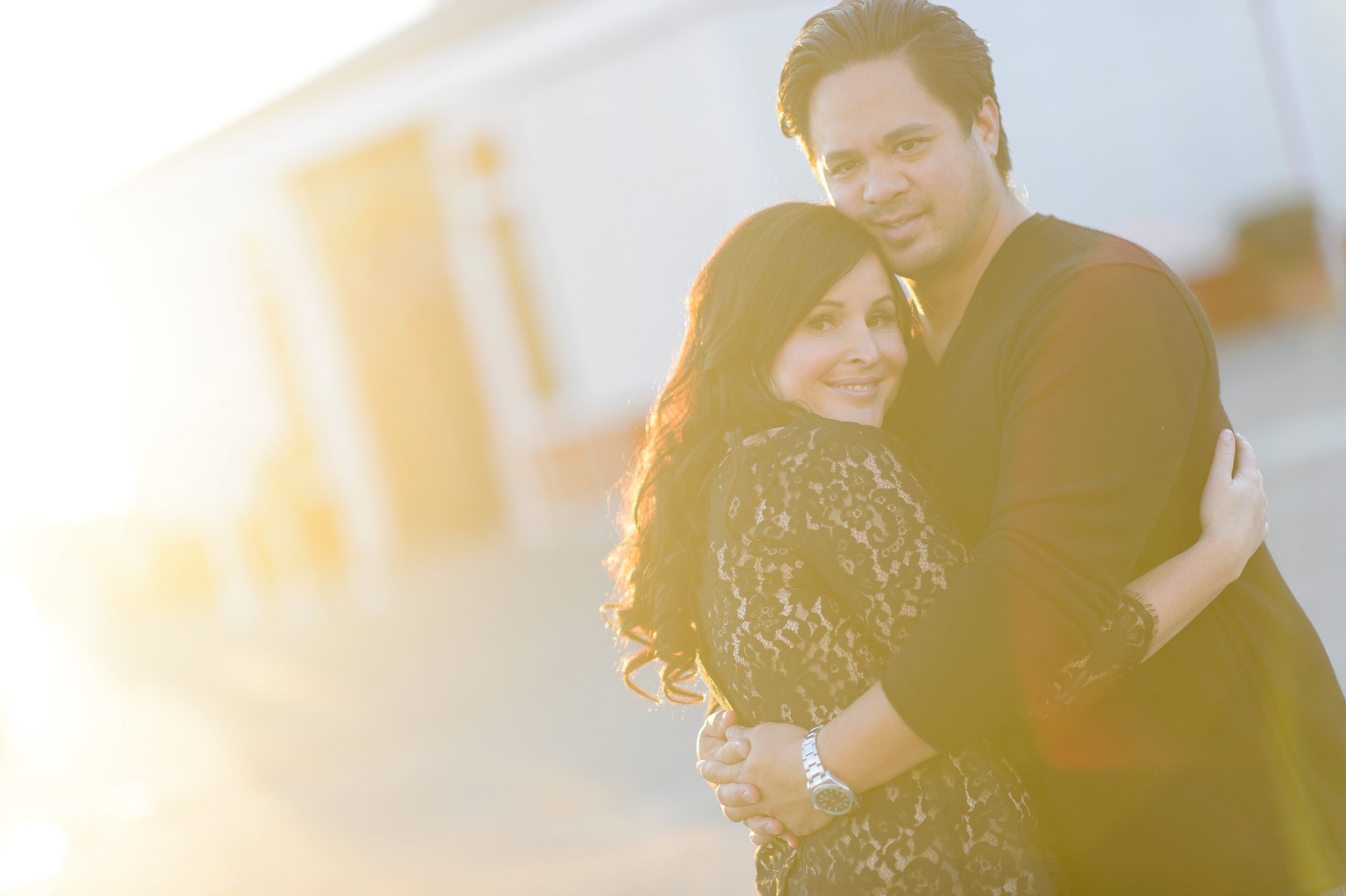 Kristina and Troy's engagement session in Oakland, CA.