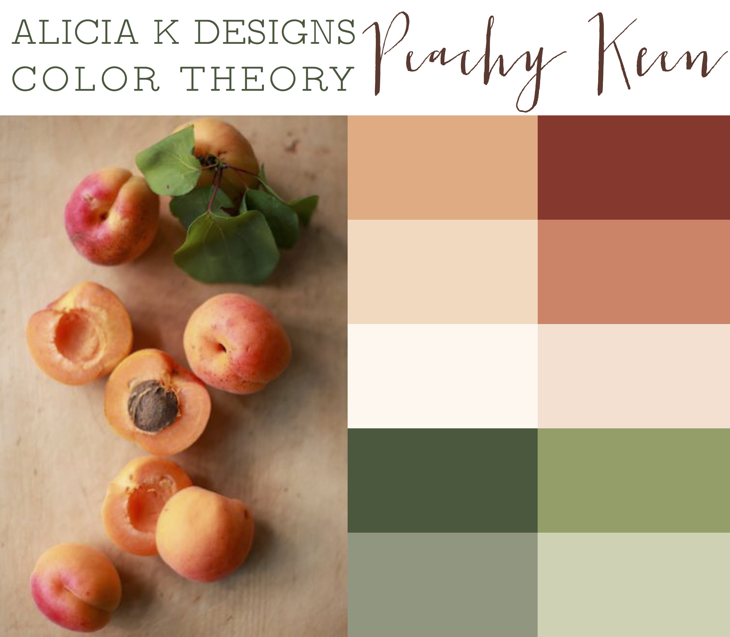 AKD Color Theory: Peachy Keen