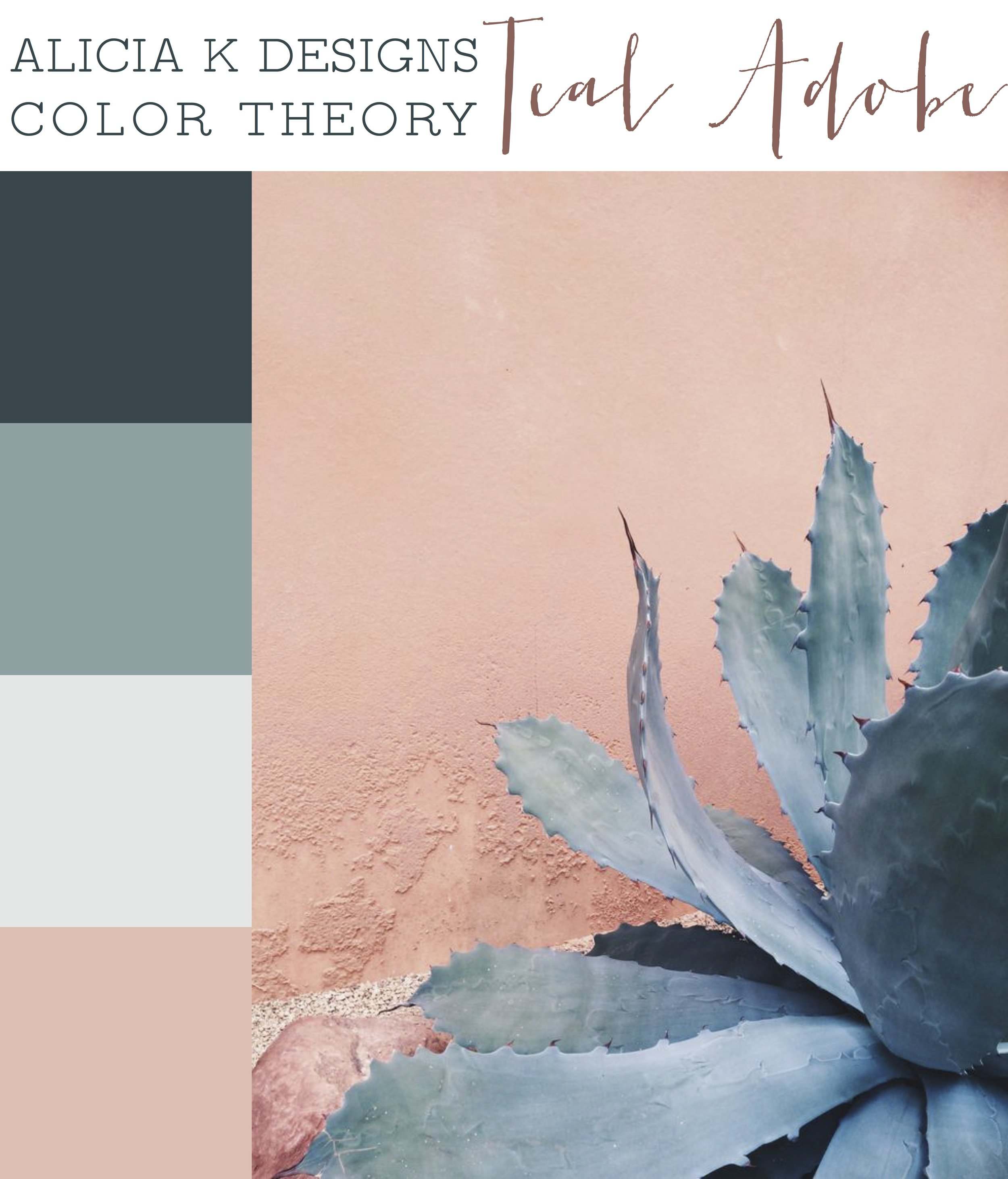 AKD Color Theory: Teal Adobe