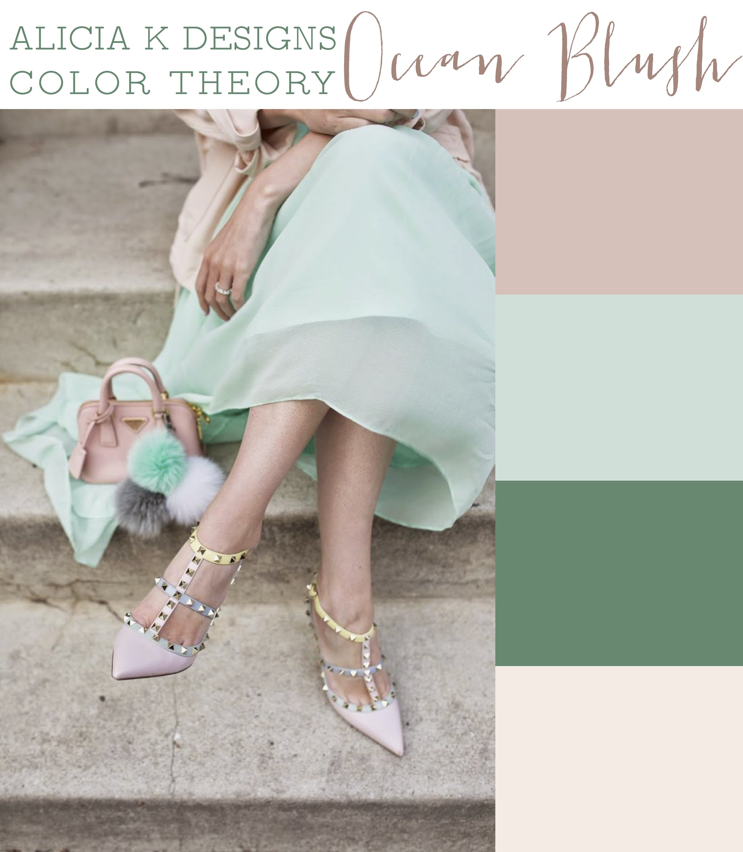 AKD Color Theory: Ocean Blush