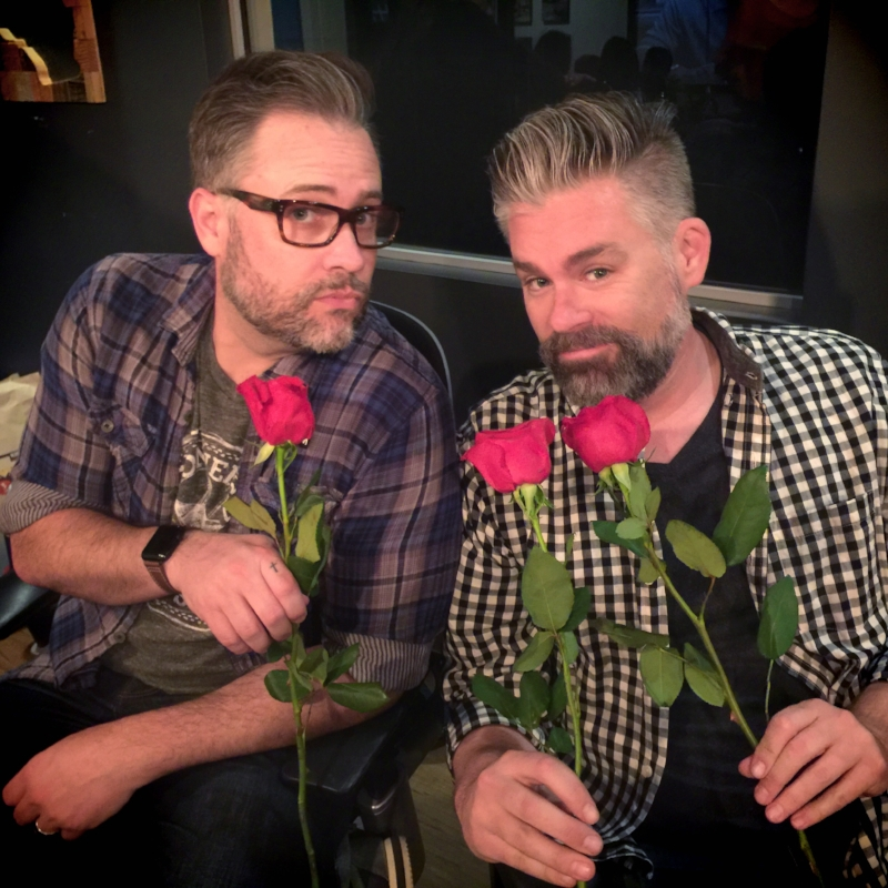 We WILL accept these roses!