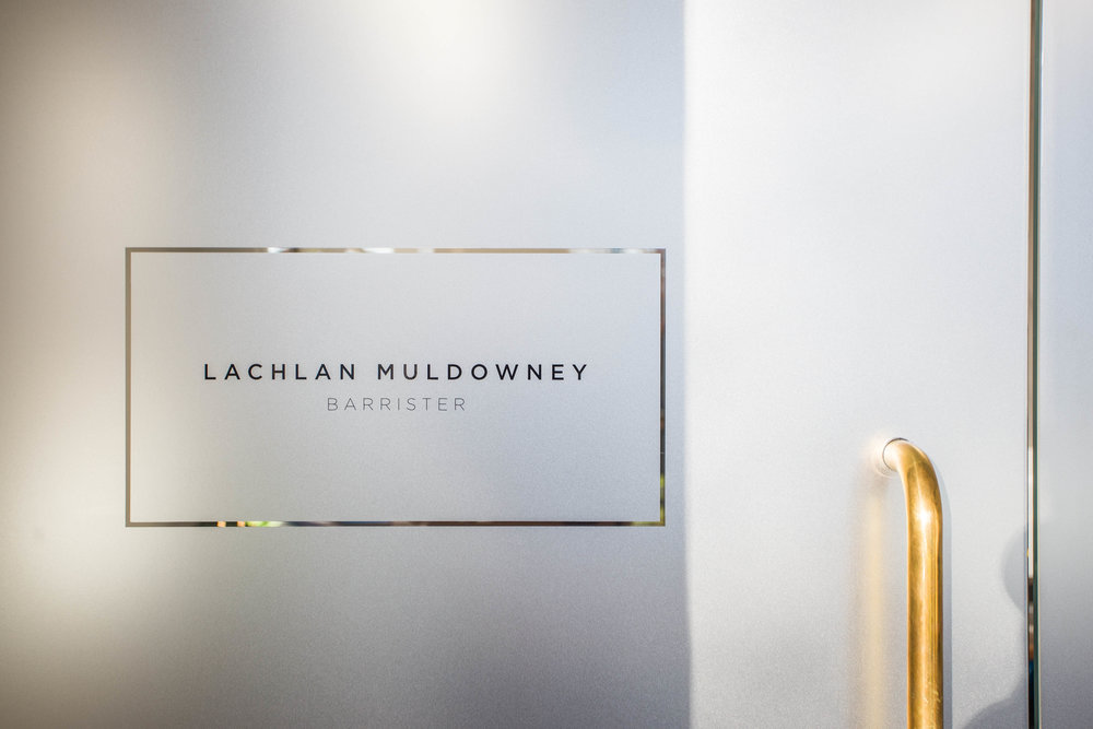 Commercial Interiors branding website design - Lachlan Muldowney
