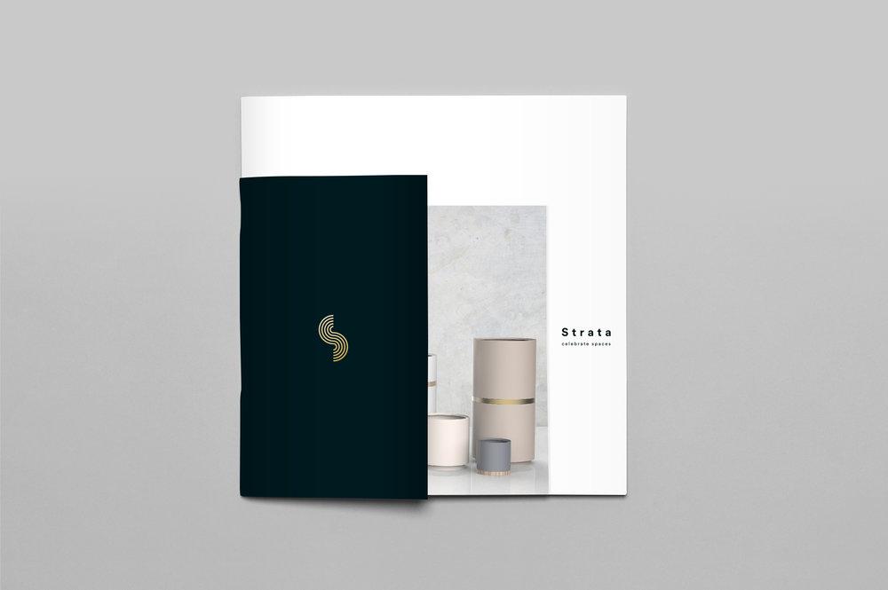 Product design, branding, Strata - Designwell