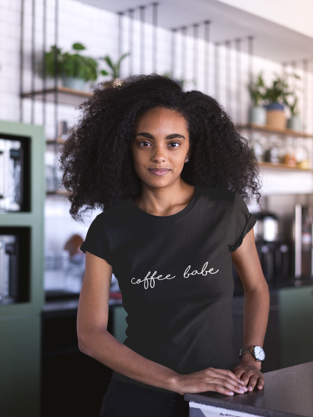 Coffee Babe Tee