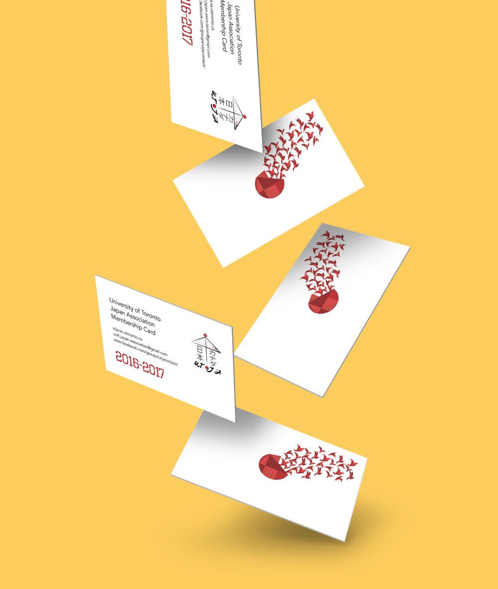 Business Card Design Ilona Lin – Membership Card Design