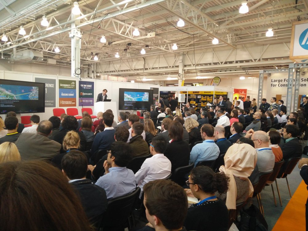 Free to attend, CPD-accredited presentations at London Build
