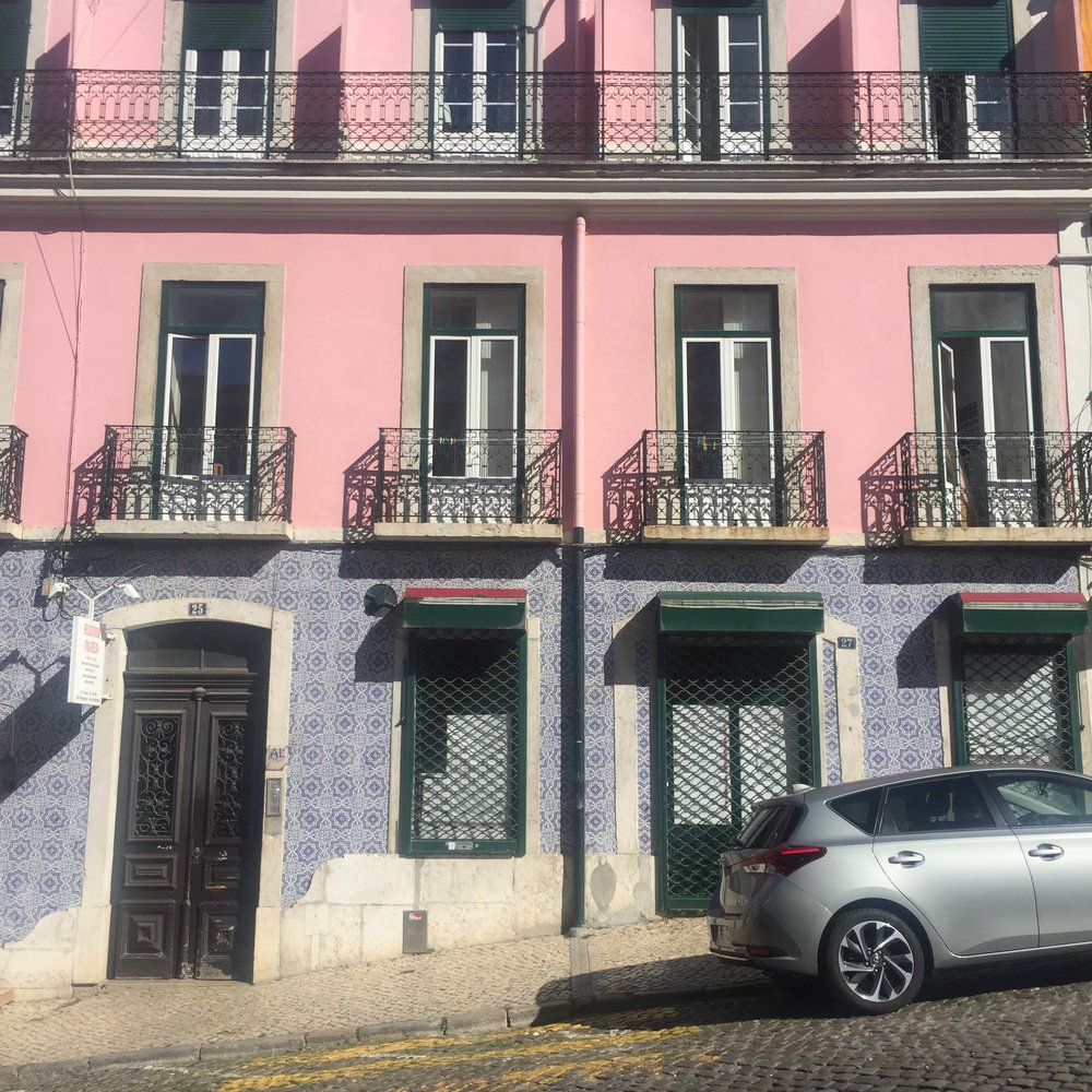 Pink building and blue tiles.jpg
