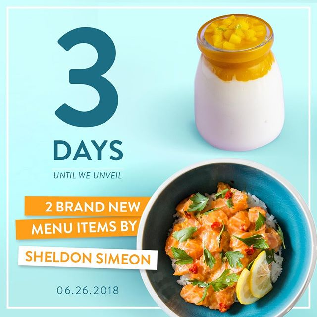 THE COUNTDOWN BEGINS!! 📆 We're excited to announce that we have two new @chefwonder collaboration items launching in just 3 DAYS!! One poke bowl and one mouthwatering dessert - can you guess what's in each? 😏 Let us know your guesses below, 👇and turn post notifications on to be the first to find out! • • • • #pokeworks #pokebowl #cleaneating #dailyfoodfeed #zagat #hawaiianfood #f52gram #healthybowl #poke #foodgasm #foodiefeature #salmon #EEEEEATS #buzzfeast #instafood #foodbeast #feedyoursoull #eatingnyc #foodporn #food #foodie #f52grams #infatuation #eater #feedfeed #buzzfeedfood #huffposttaste #newitem #new