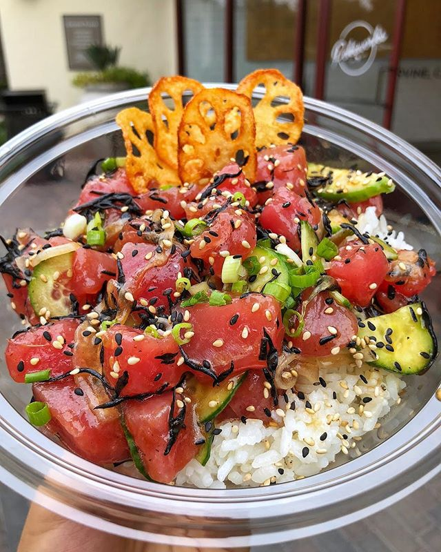 There's poke bowls and then there's #Pokeworks poke bowls. 😉