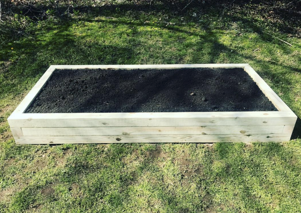 4X8 Raised Garden Bed
