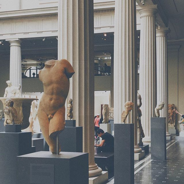 THE MΣT // #art #museum #sculpture #malefigure #busted #themet #history #arthistory #fineart