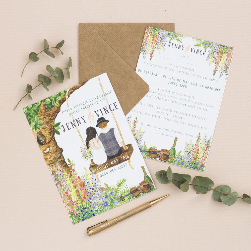 Bespoke Wedding Stationery -