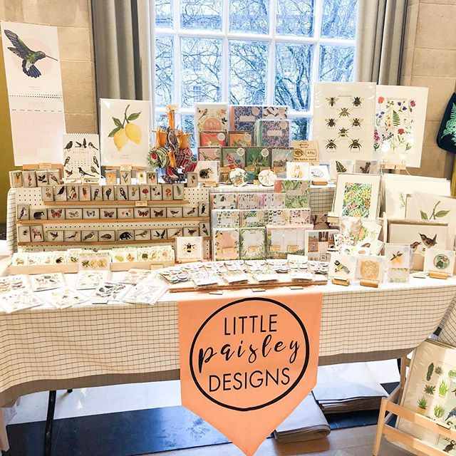 Sorry for the insta silence, I think I might be completely broken after this weekends brilliant @bristoletsyteam Etsy Made Local 😴 We've been working on organising the market since January, and it was great to see it such a great success. So huge thanks to every lovely visitor and vendor who came along this weekend 🙌🏻 Now to hibernate (jokes, I have orders to pack 🤪) 🎄