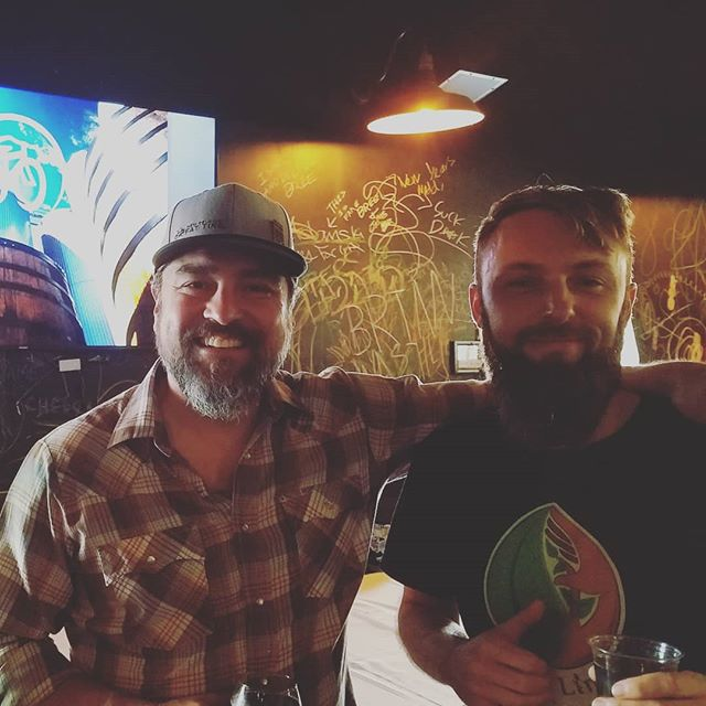 Great times talking fermentation with @beersalad @nerdett