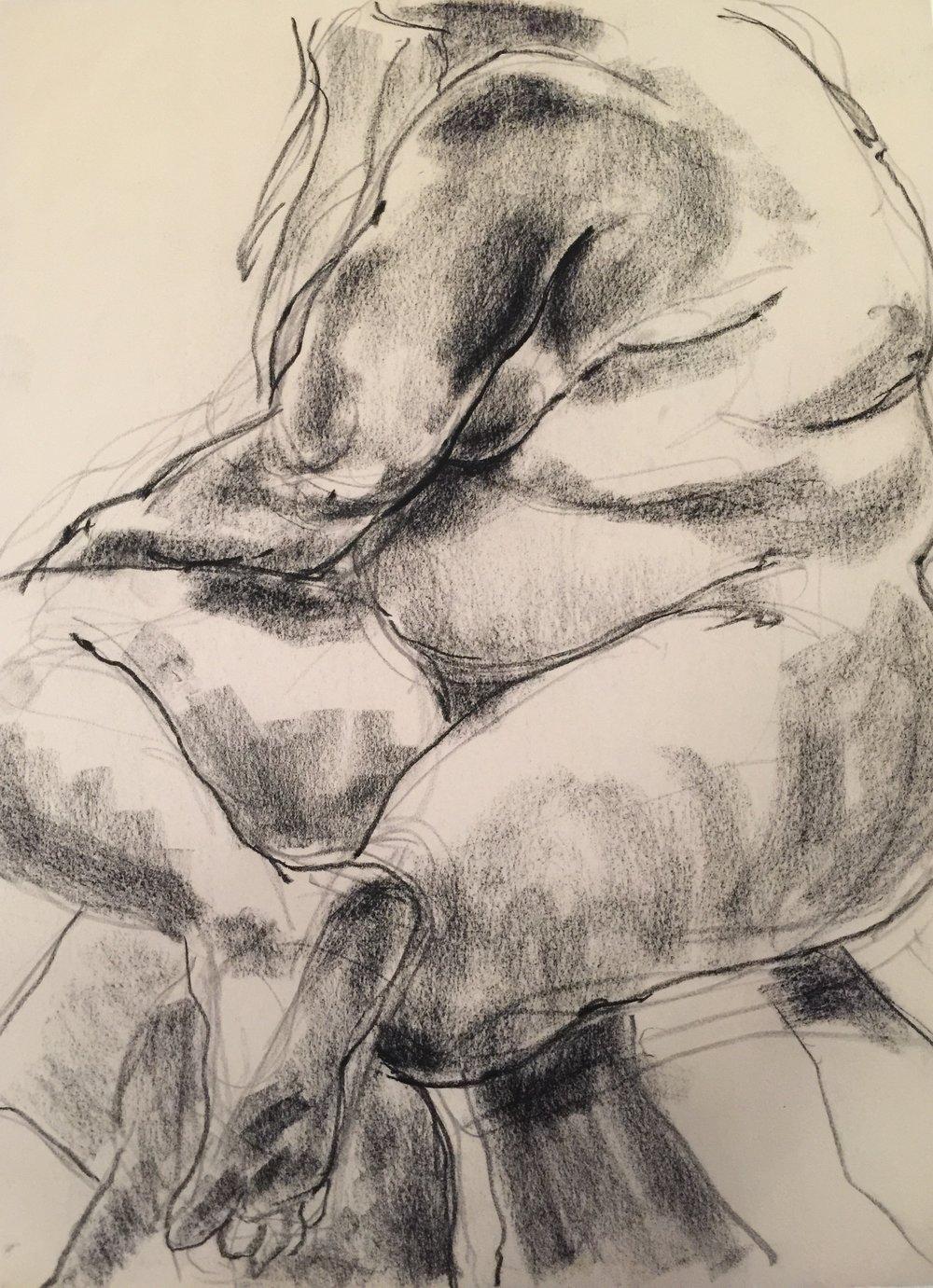 Figure Study: Mary