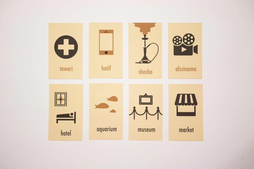 Print Production — Saudi Arabia Flash Cards
