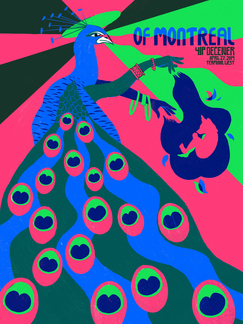 Screenprinting — Of Montreal Gig Poster