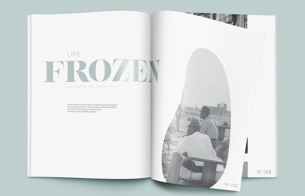 Graphic Design 03 — Vivian Maier Editorial
