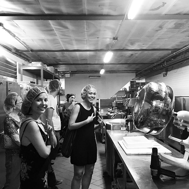 """#stayingcool during 34°C"" Sunday program: Touring through @cacao_prieto chocolate factory & cooling chambers #redhook #sundaysinbrooklyn"
