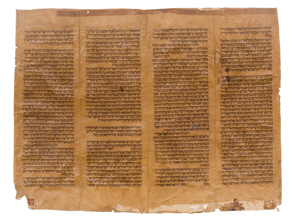 Antique Hebrew Text_10167457.jpg
