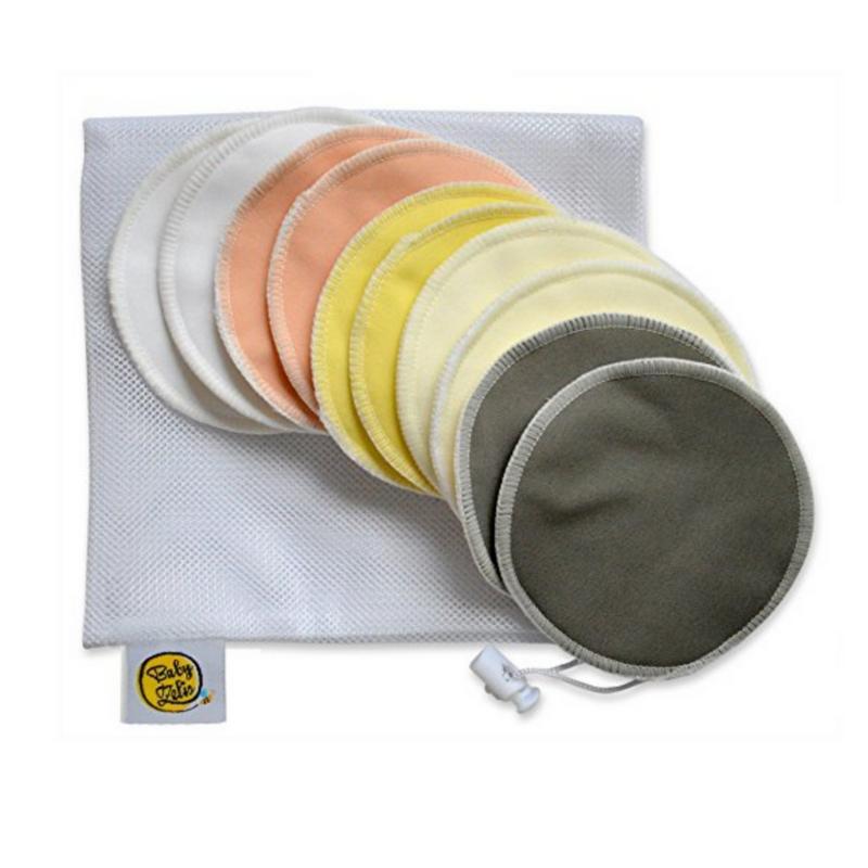 ORGANIC BAMBOO {reusable} NURSING PADS -