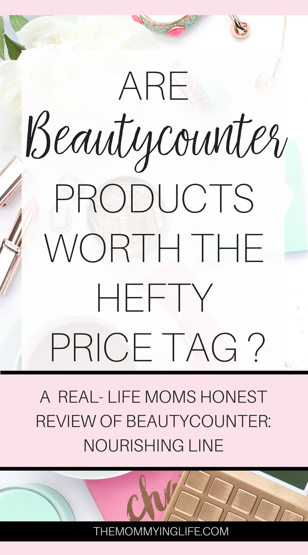 review of beautycounter nourishing line