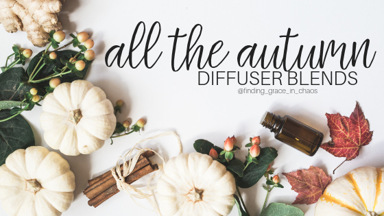 fall essential oil diffuser blends, make your house smell like fall