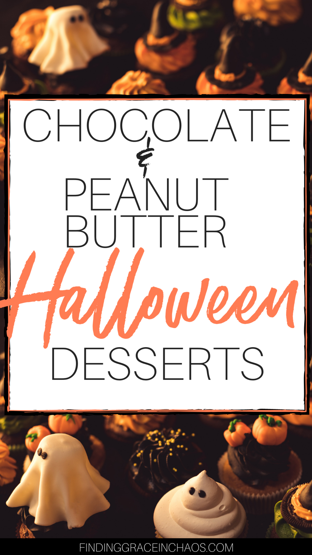 chocolate and peanut butter desserts for halloween