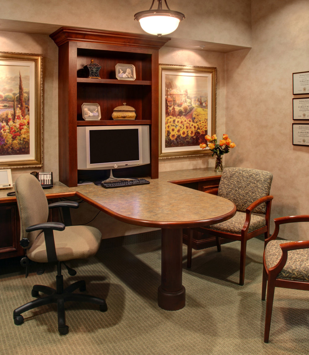 Edina Dental Care's consultation rooms offer a warm and modern area to discuss treatment options.