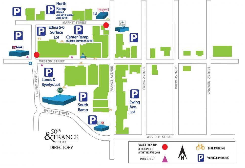 Changes to 50th & France Parking — Edina Dental Care