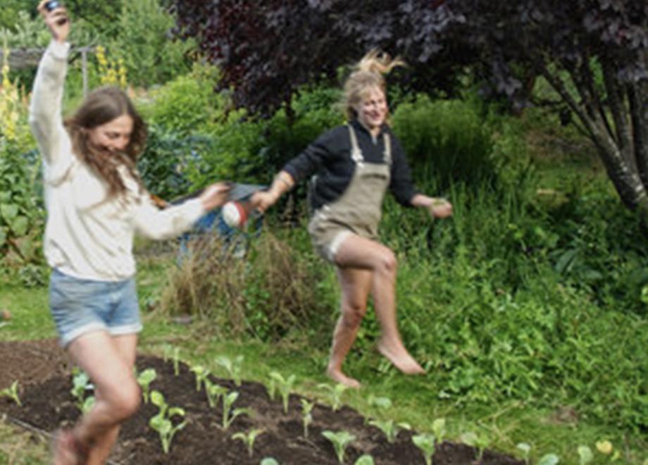Joy after planting