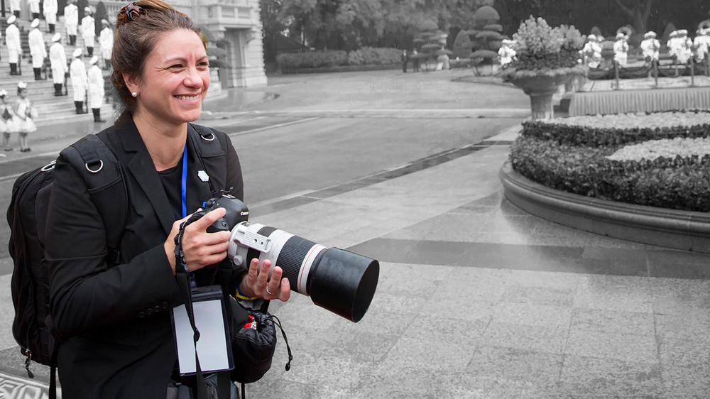 The Woman Behind the Lens: Meet White House Photographer Shealah Craighead