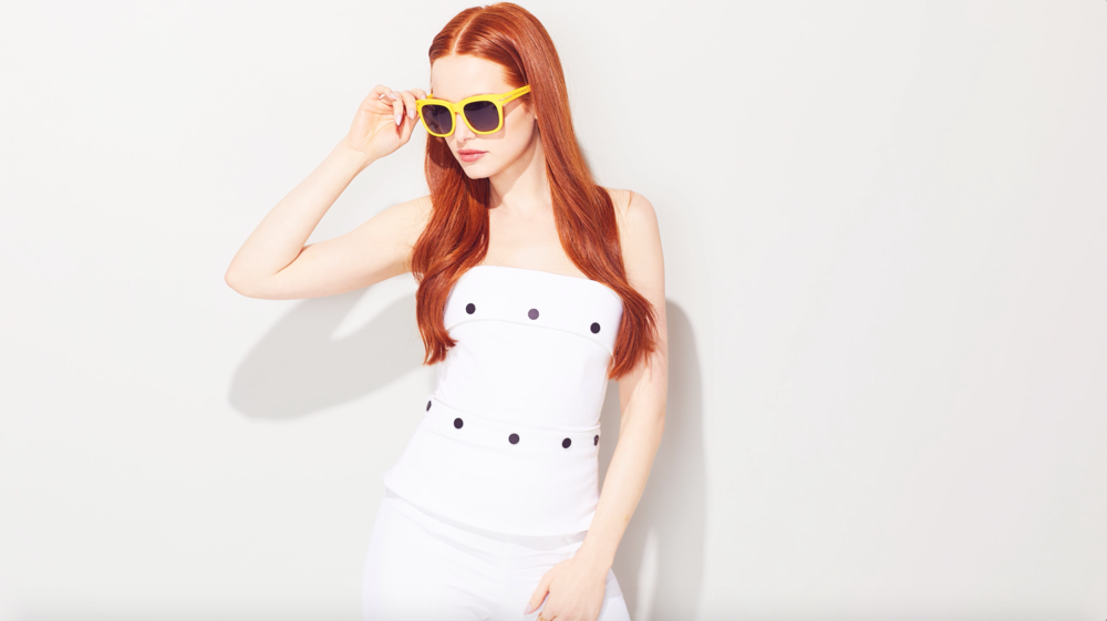 Madelaine Petsch Gets Shady With the Cast of 'Riverdale'