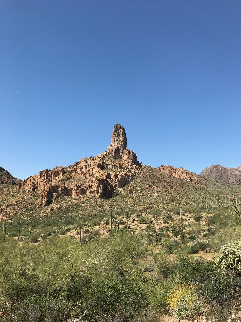 Rhyolite Formations