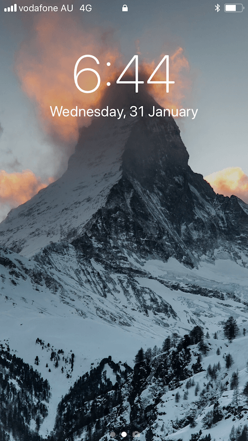 Matterhorn at sunset, Jan 18 - Zermatt, SwitzerlandThroughout history and across cultures, mountains have been revered as holy and powerful places. I have always believed this too, but never more so than now.To date, Matterhorn is the most special peak I have ever seen. She is colossal and majestic and makes you blink twice every time you see her to make sure she is really there.We were in Zermatt during the worst storm since 1997...so sightings of the incredible Matterhorn were rare. This was the only night out of five that we would see her and to see these fiery, vivid clouds blowing off the summit...it was truly breathtaking.