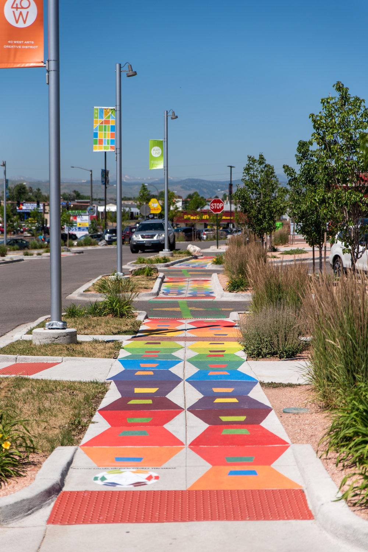 Rainbow Road Chroma Code