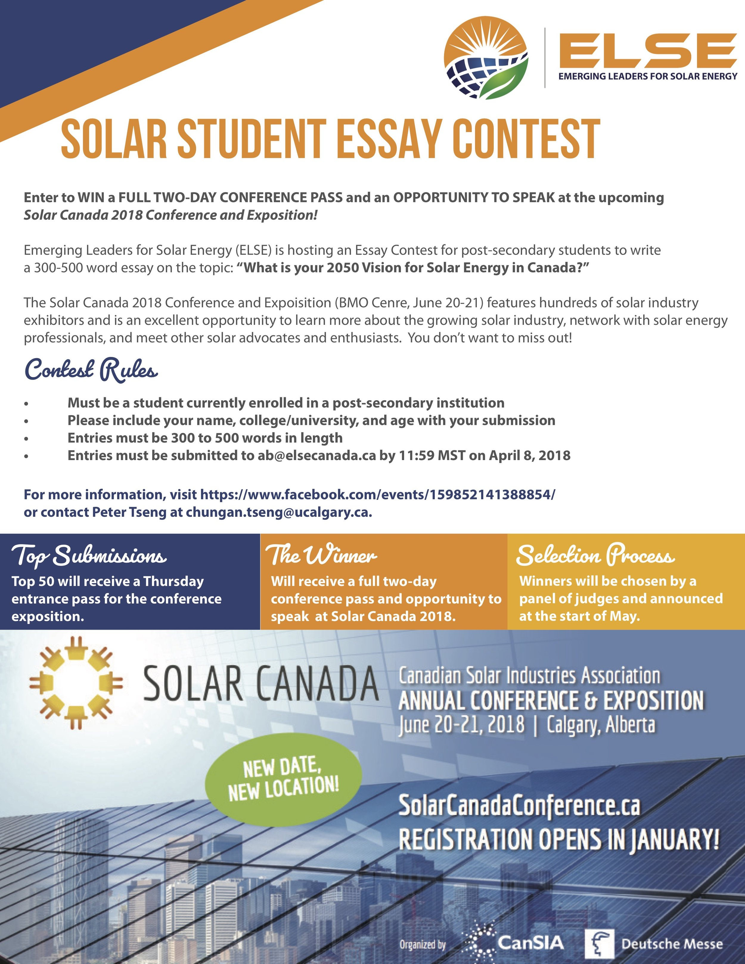 Essay format for contest