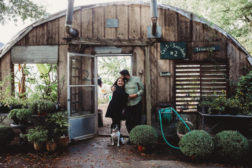 greenhouse photoshoot