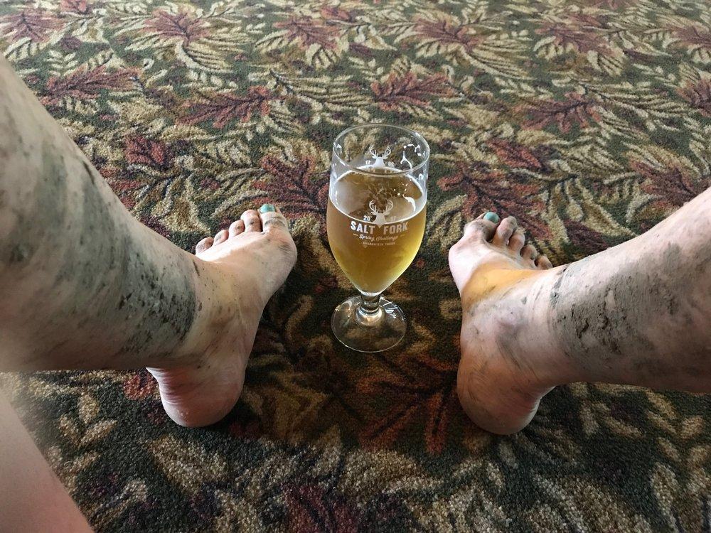 Mud and Beer - Salt Fork Challenge 2017
