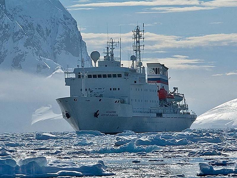 2021 Antartica Marathon Research/Passenger Vessel