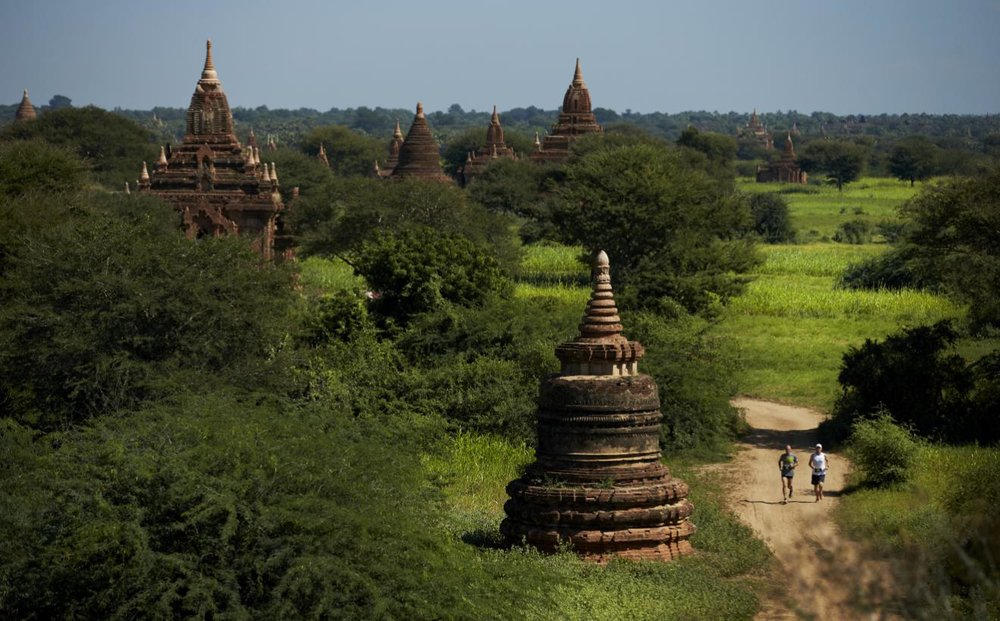 Bagan, Myanmar Course in Southeast Asia Marathon in 2018
