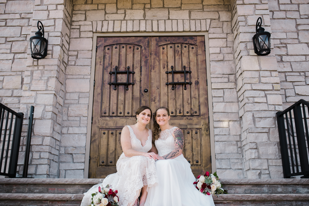 Maggie Catie Wedding Old Stone Chapel St Charles St Charles